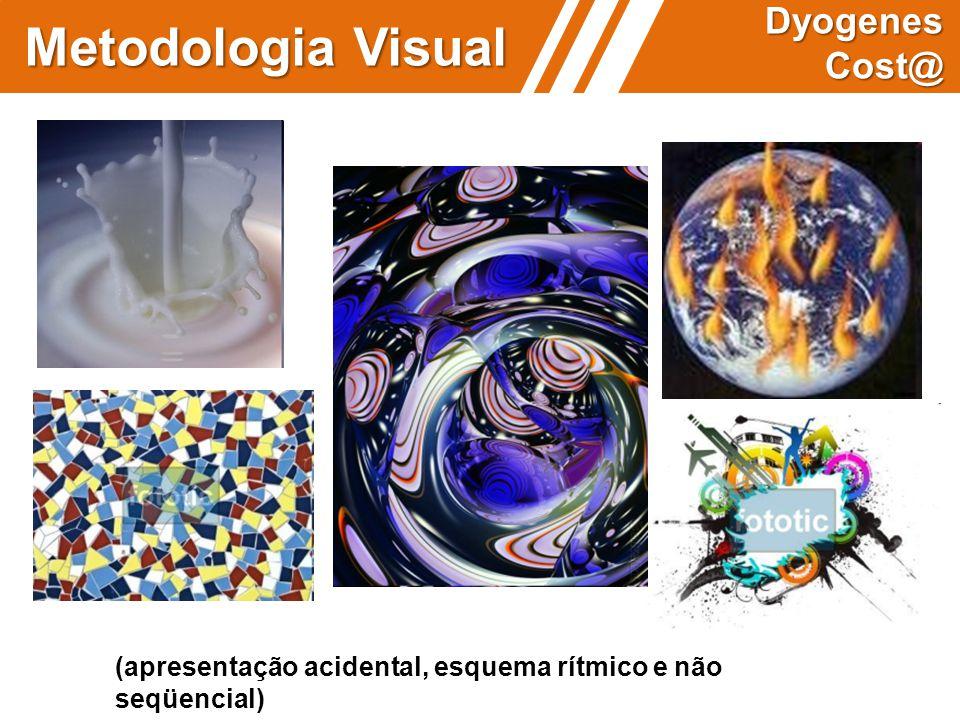 Metodologia Visual Dyogenes Cost@ (apresentação acidental, esquema rítmico e não seqüencial)