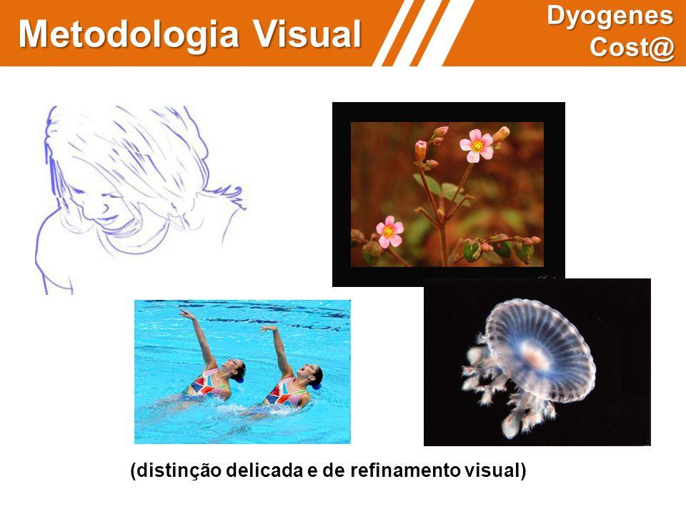 (distinção delicada e de refinamento visual) Metodologia Visual Dyogenes Cost@