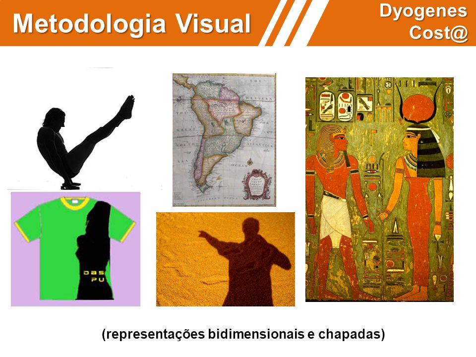 (representações bidimensionais e chapadas) Metodologia Visual Dyogenes Cost@