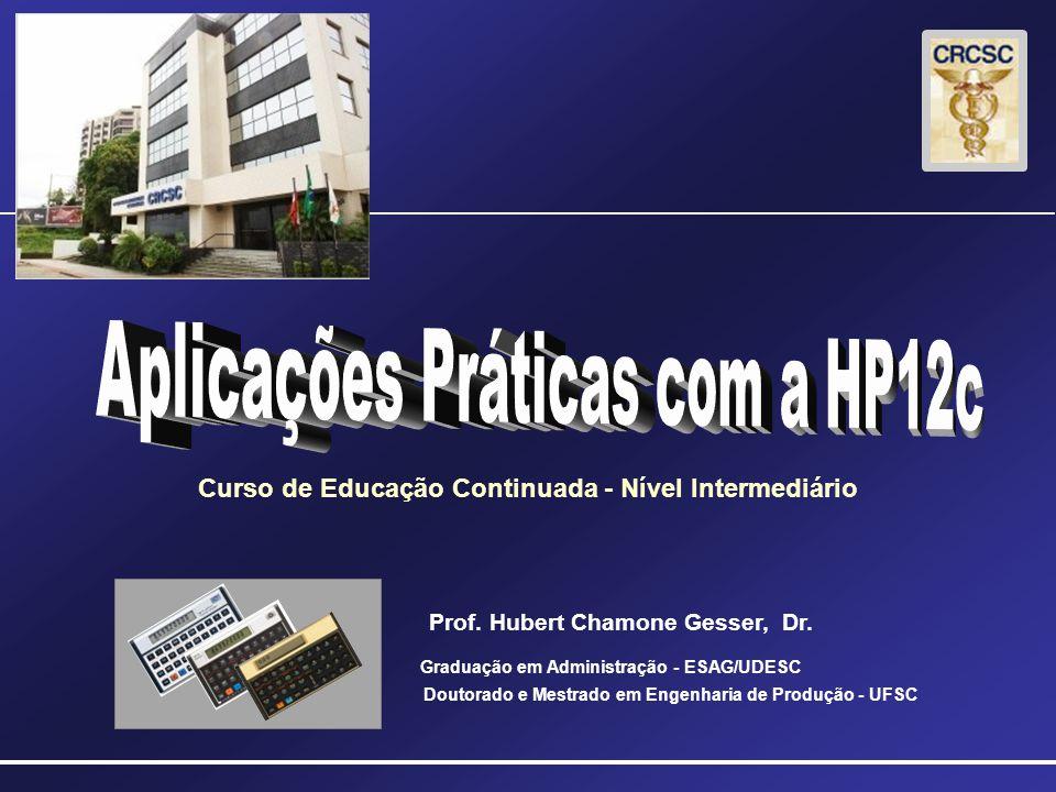 Curso de Educação Continuada - Nível Intermediário Prof.