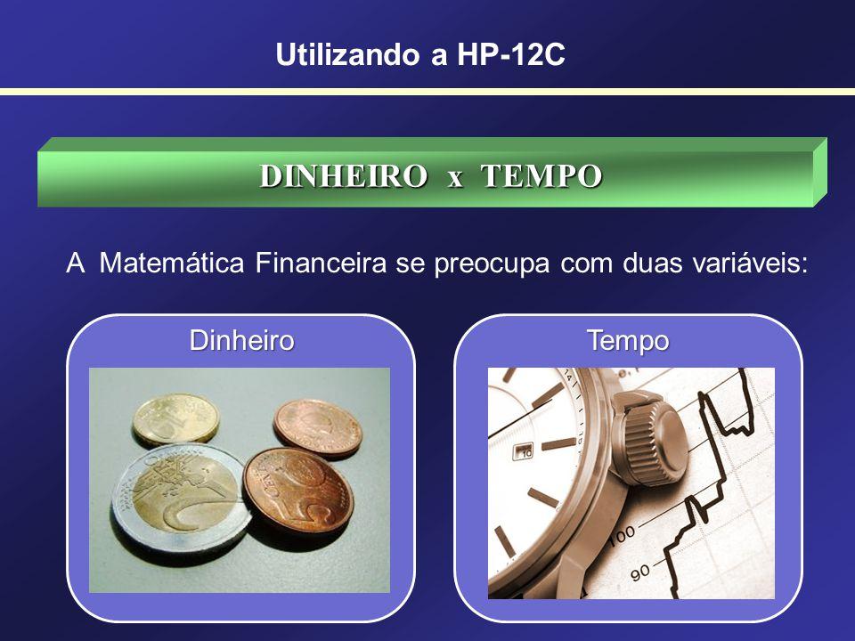 INTRODUÇÃO A Matemática Financeira tem como objetivo principal estudar o valor do dinheiro em função do tempo. Utilizando a HP-12C ANALISAR OS RISCOS