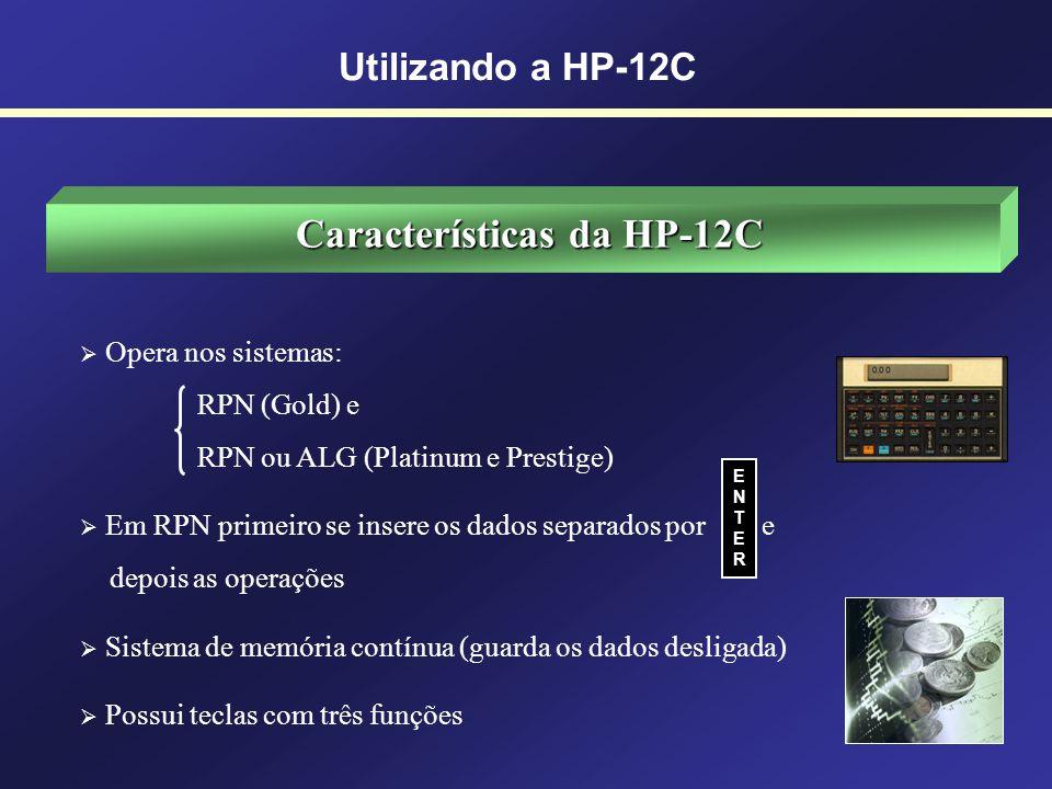 Calculadoras Financeiras Concorrentes Utilizando a HP-12C BELL`S CANON Financial