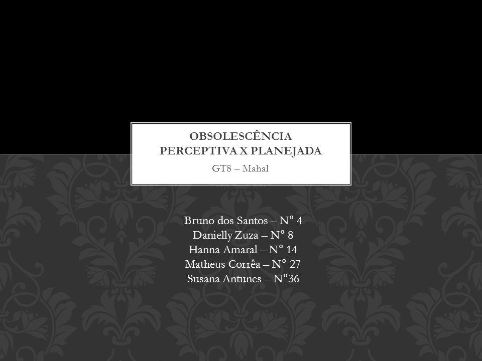 GT8 – Mahal Bruno dos Santos – N° 4 Danielly Zuza – N° 8 Hanna Amaral – N° 14 Matheus Corrêa – N° 27 Susana Antunes – N°36