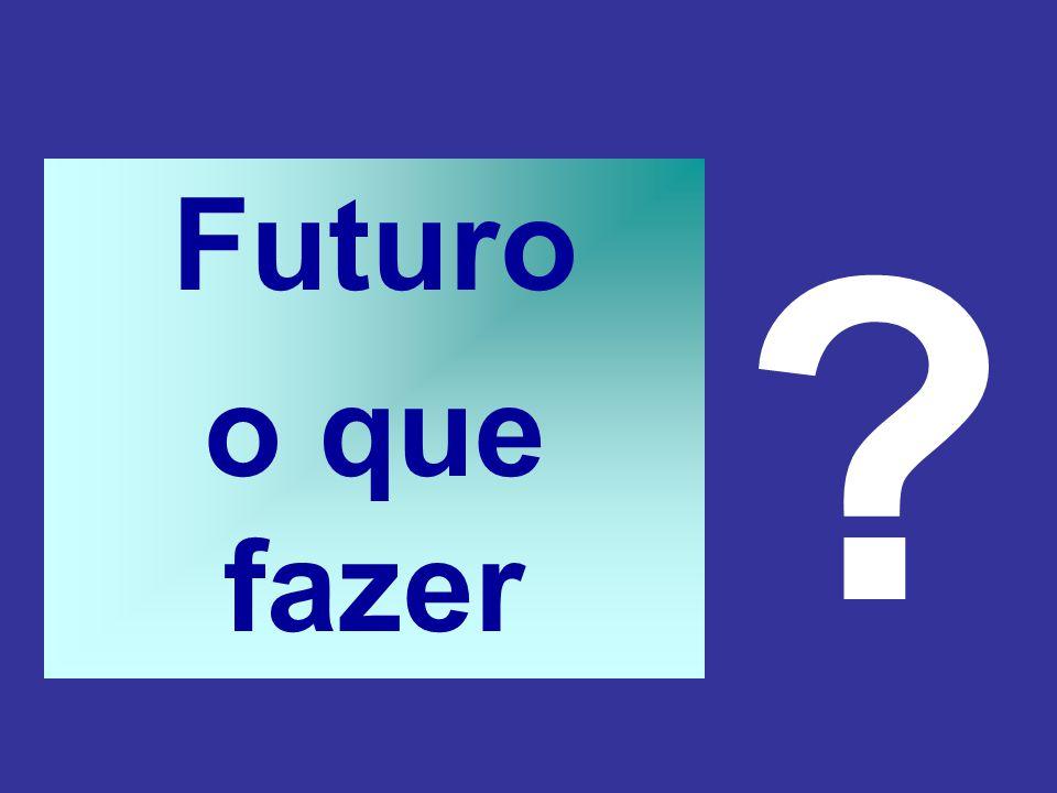 Futuro o que fazer ?