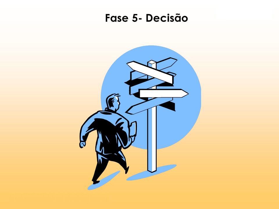 Fase 5- Decisão