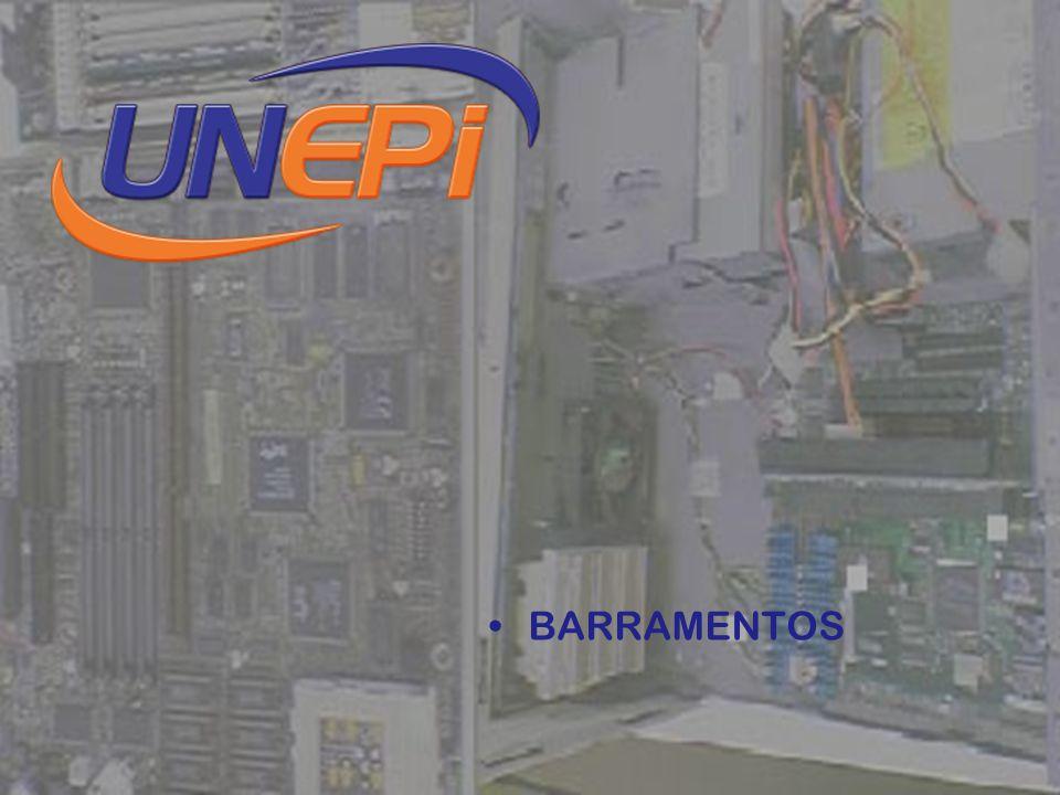 SLOT: são conectores onde encaixamos as placas adicionais à placa mãe (vídeo, controladora de discos, comunicação, scanner, fax / modem, rede).