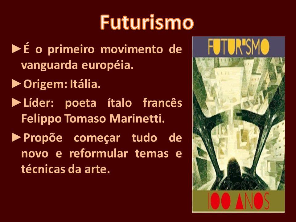 Somente após a Semana de Arte Moderna de 1922 o movimento cubista ganhou terreno no Brasil.