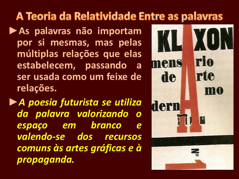 Encontra expressão e divulgação em Oswald de Andrade.