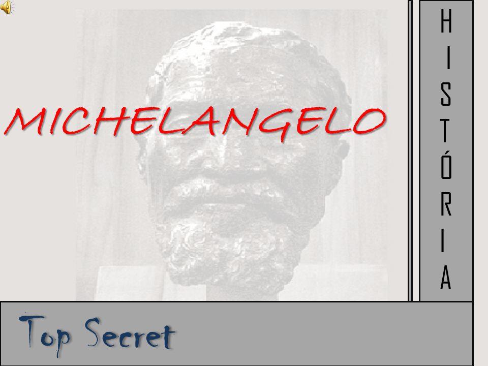 Sua Biografia: Michelangelo Filho Di Lionardo Buarroti e Francesa di Neri Aos seis anos ficou órfão de mãe e foi entregue a sua ama - de- leite,aonde seu padastro era cortador de mármore,e foi daí que despertou uma vontade de ser escultor.
