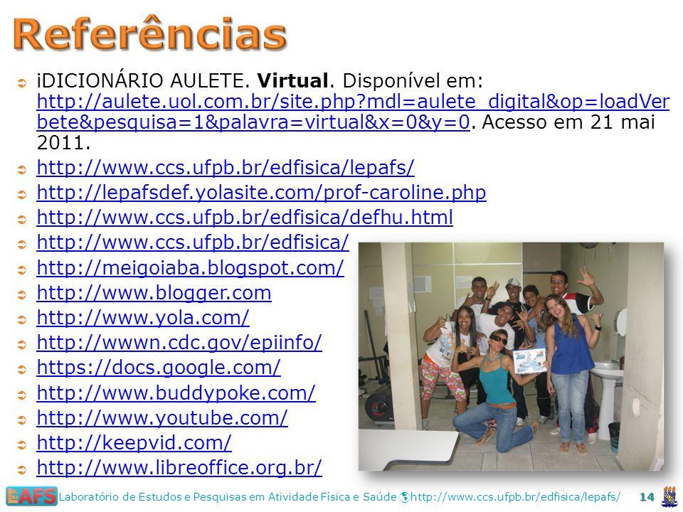 iDICIONÁRIO AULETE.Virtual.