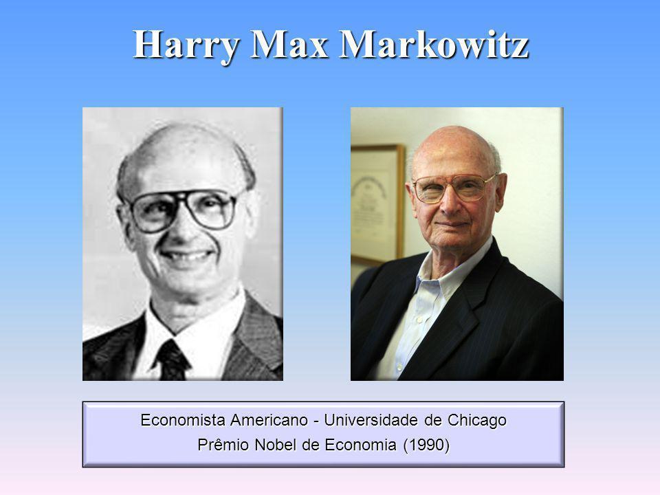 Teoria da Carteira Eficiente Teoria desenvolvida por Harry Max Markowitz (1952) Pressupostos: Pressupostos: - Como avaliar, medir e quantificar o risco; - Entender que o investidor é avesso ao risco; - Tomar decisão pela relação retorno/risco maximizada.