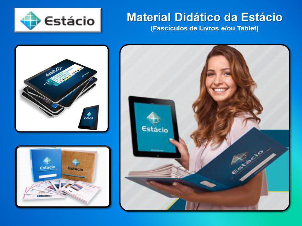 Material Didático da Estácio (Fascículos de Livros e/ou Tablet)