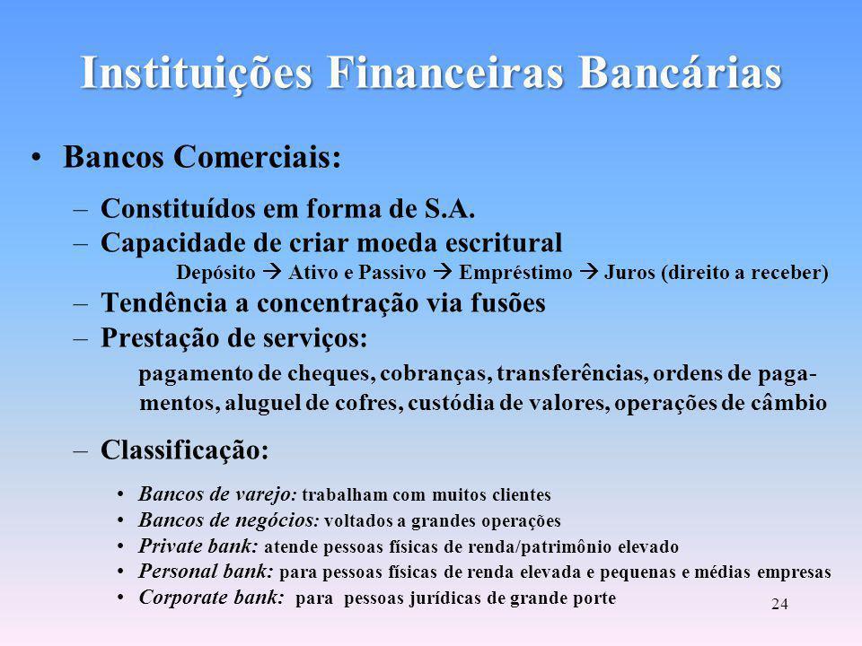 Subsistema de Intermediação Instituições Financeiras Bancárias SUBSISTEMADEINTERMEDIAÇÃO Instituições Financeiras não Bancárias Sistema Brasileiro de Poupança e Empréstimo (SBPE) InstituiçõesAuxiliares Instituições não Financeiras Composto pelas instituições bancárias e não bancárias que atuam em operações de intermediação financeira.