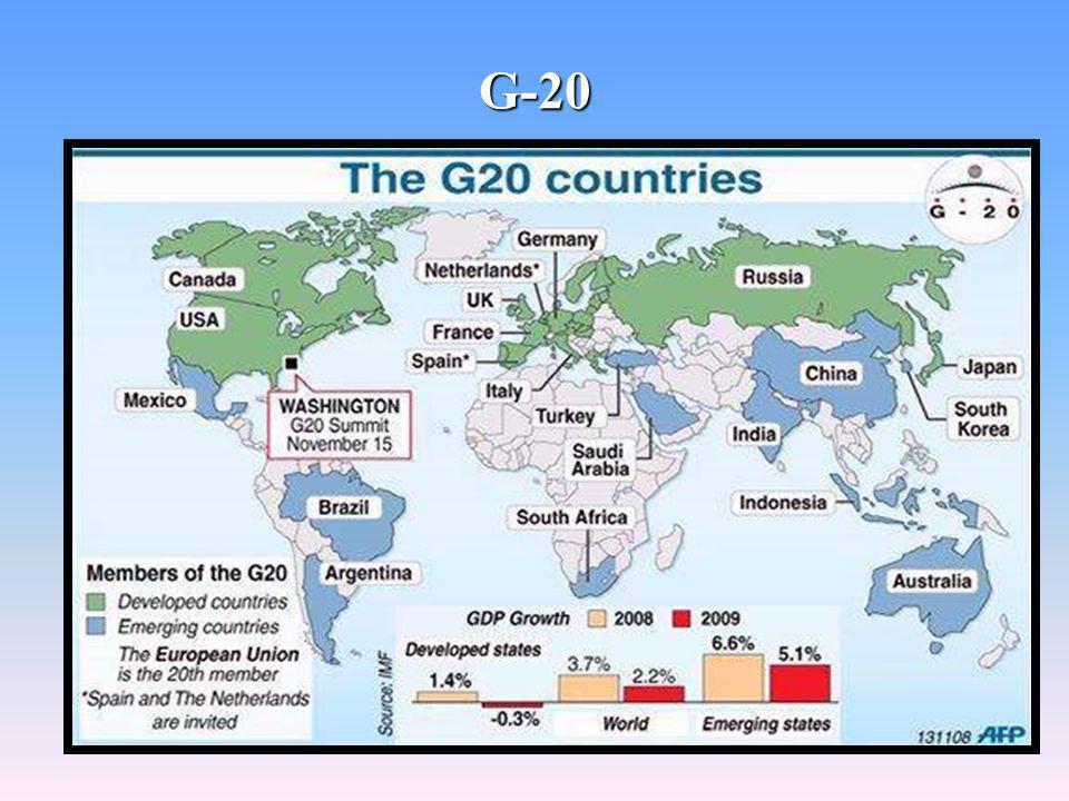 36 G-20 PAÍSES MEMBROS: Argentina.