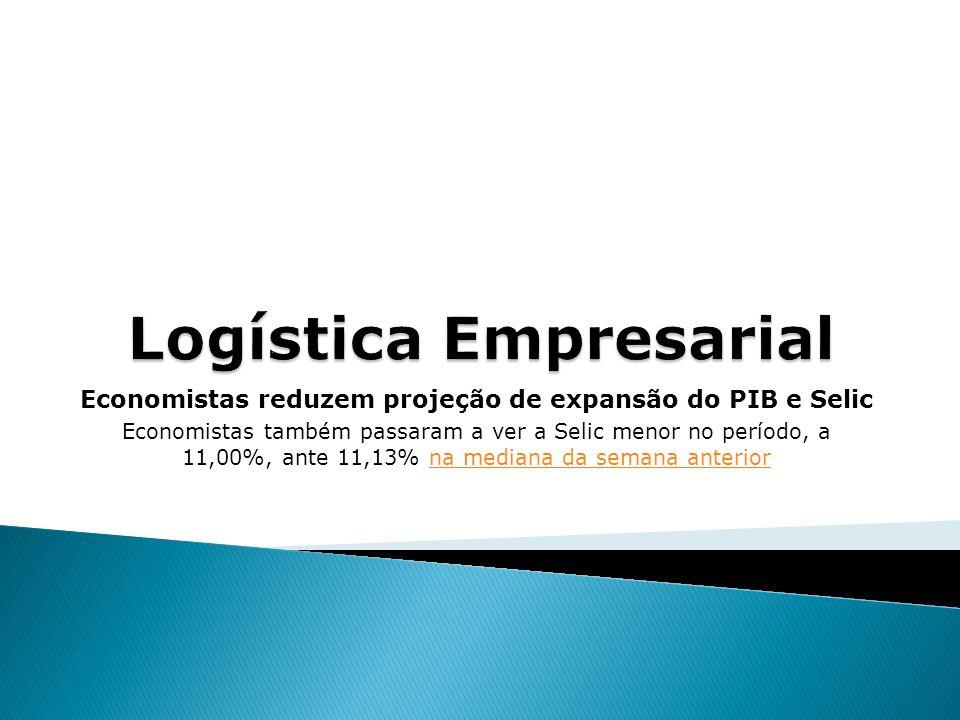 Economistas reduzem projeção de expansão do PIB e Selic Economistas também passaram a ver a Selic menor no período, a 11,00%, ante 11,13% na mediana da semana anteriorna mediana da semana anterior