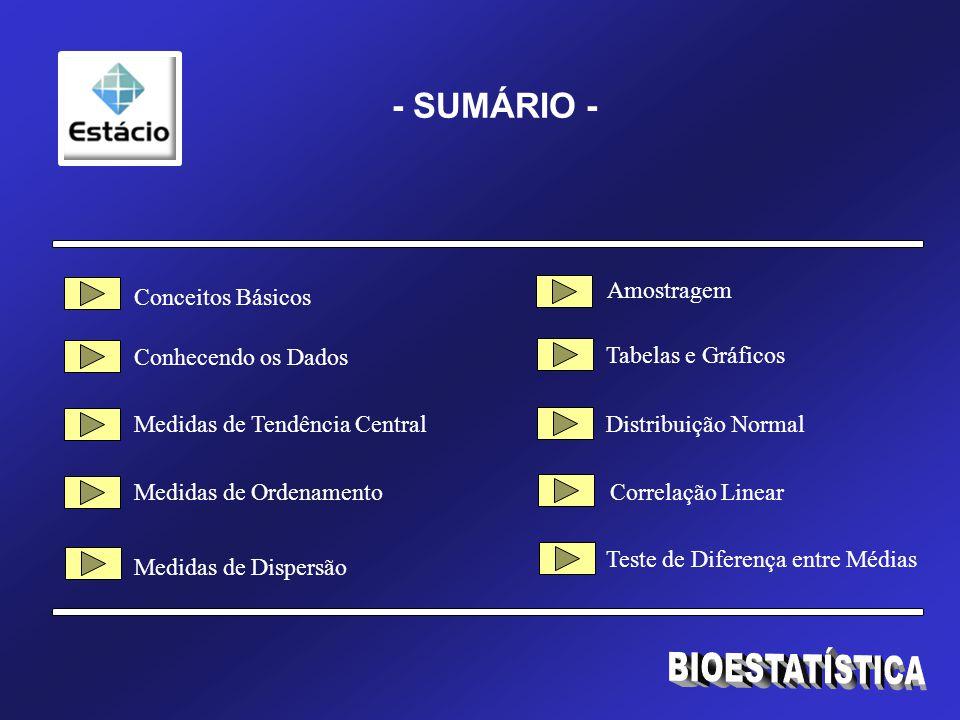 BIOESTATÍSTICA Gráfico é a forma geométrica de apresentação dos dados e respectivos resultados de sua análise.