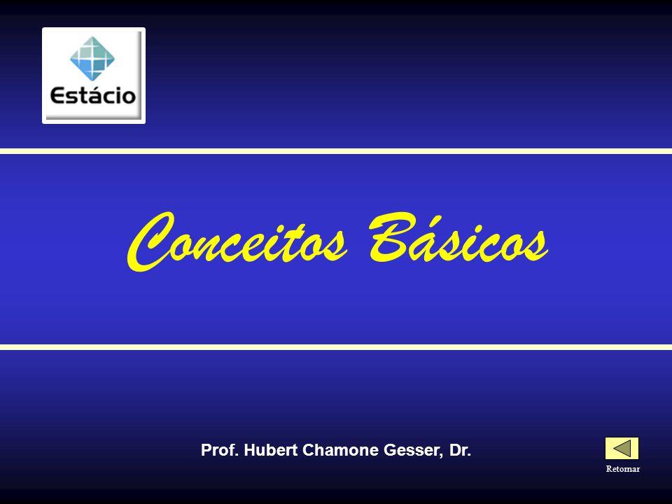 Prof. Hubert Chamone Gesser, Dr. Retornar Conceitos Básicos