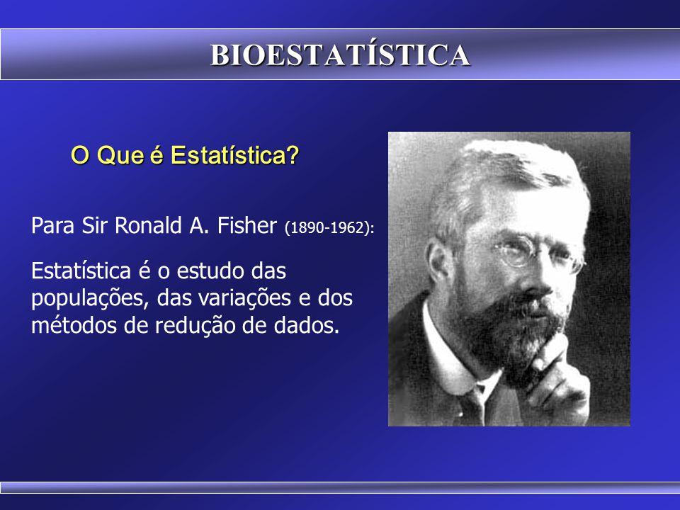 BIOESTATÍSTICA O primeiro uso da palavra ESTATÍSTICA parece datar de 1589 e apareceu em um trabalho do historiador Girolomo Ghilini, quando se referiu