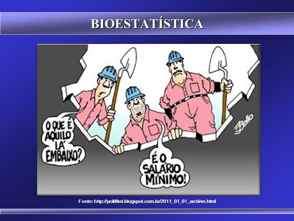 BIOESTATÍSTICA Fonte: http://jesseantenado.blogspot.com.br/2012_01_01_archive.html