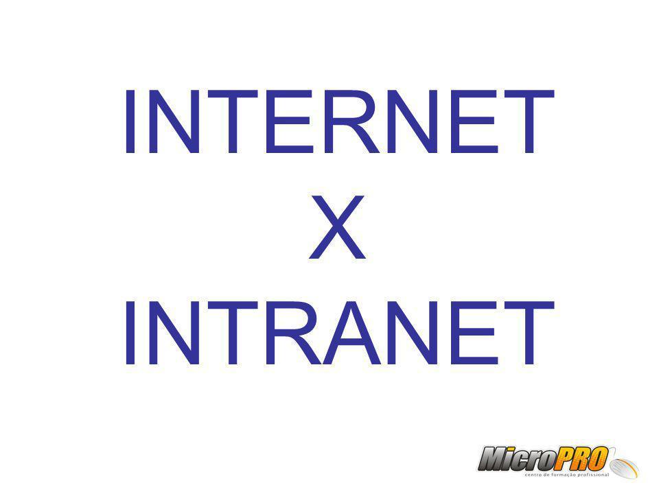 INTERNET X INTRANET