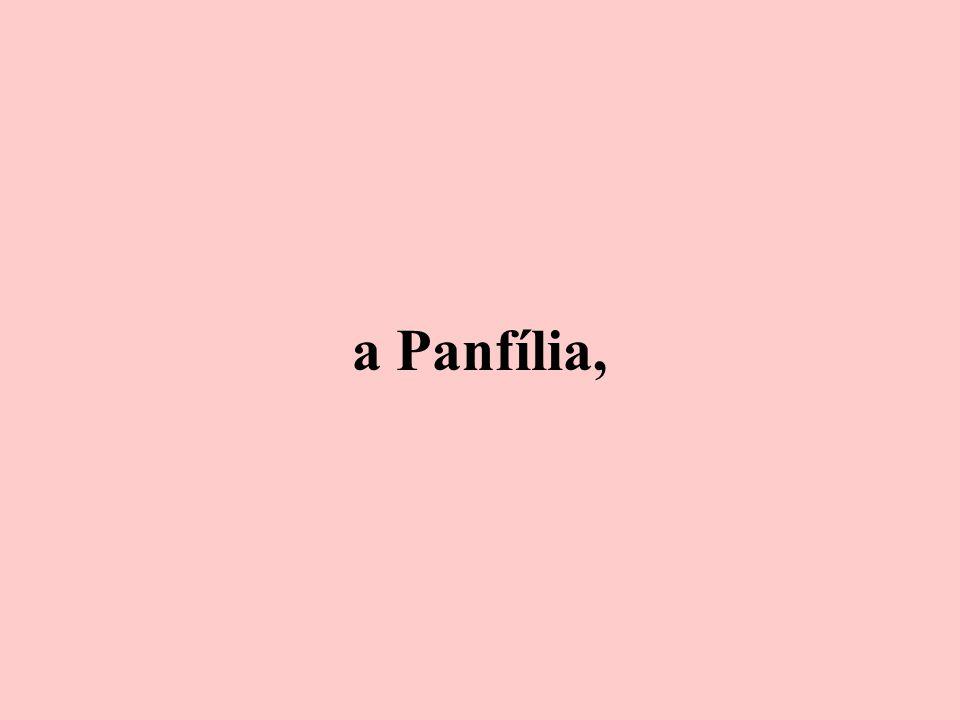 a Panfília,