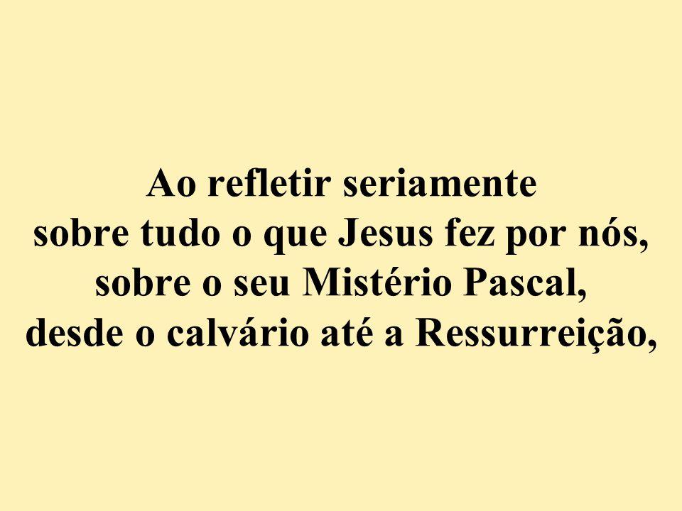 Somente em lembrar que se não fosse Jesus por nós, estaríamos perdidos, mas porque Ele vive eu posso crer no amanhã, ou seja, numa vida após a morte, dispensa qualquer comentário ou questionamento...