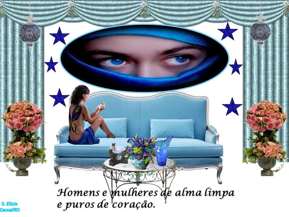 Homens e mulheres que habitam o perfeito universo e a perfeita ordem nele existente...