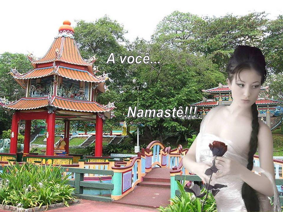 Ao fazer o Namastê, Afirmamos que todos somos filhos e parte do Sagrado, indissociáveis e iguais.