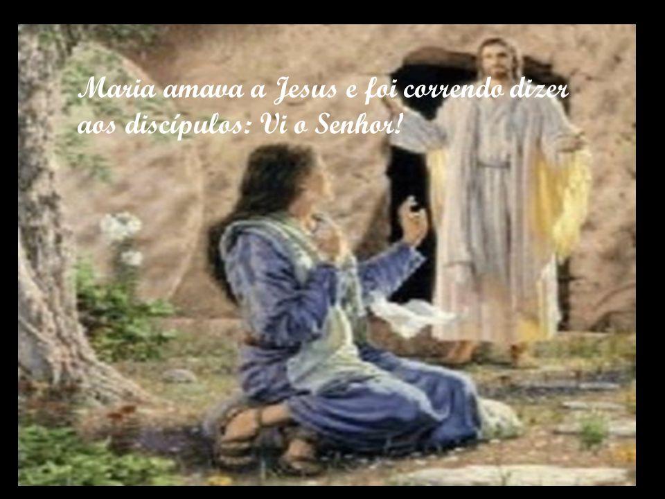 Sempre há um terceiro dia. Eis que ele surge a Maria vivo,pela manhã,para tornar-se conhecido ao mundo.