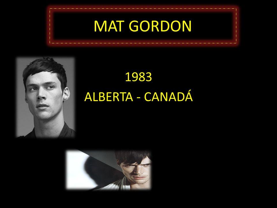MAT GORDON 1983 ALBERTA - CANADÁ