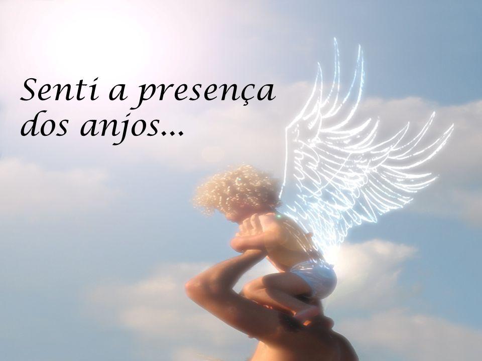 Senti a presença dos anjos...