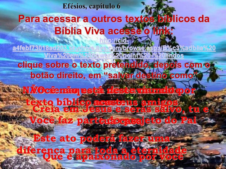 (bv)6:18- Orem o tempo todo. Peçam a Deus qualquer coisa que esteja de acordo com os desejos do Espírito Santo. Argumentem com Ele, fazendo-o lembrar-