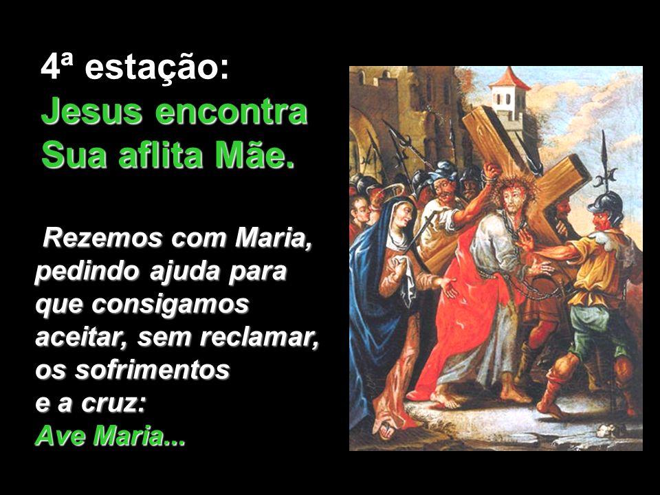 E Maria se põe a caminho. Céu e terra ficam cor de sangue para ela. Maria não vacila. Sempre resoluta caminha às pressas e não olha para trás. A decis