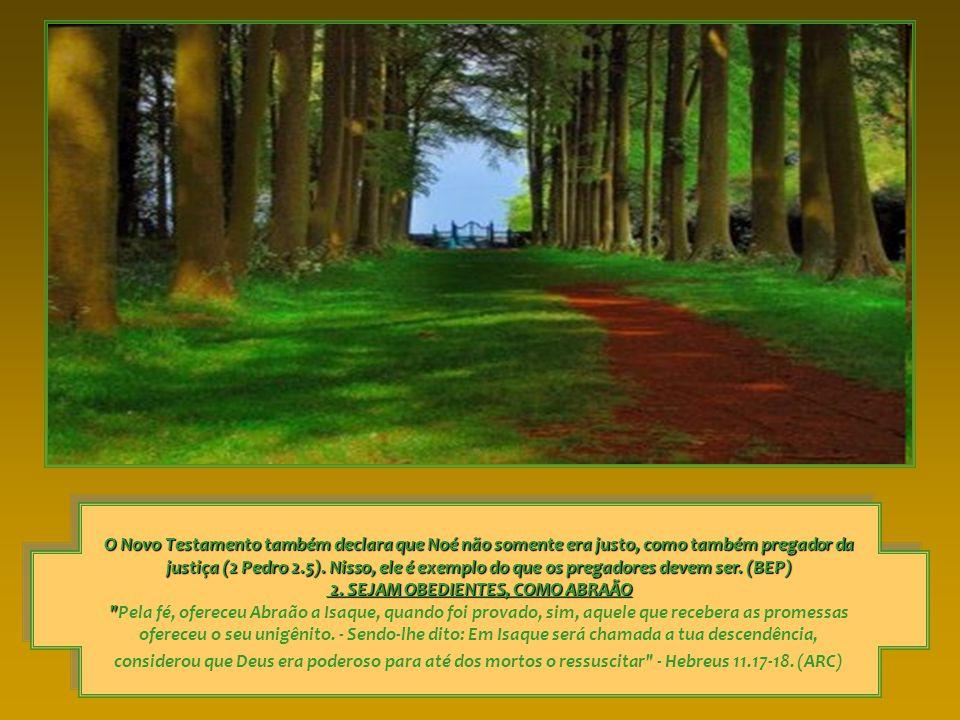 A fé e a obediência são inseparáveis entre si, assim como também são inseparáveis a incredulidade e a desobediência.