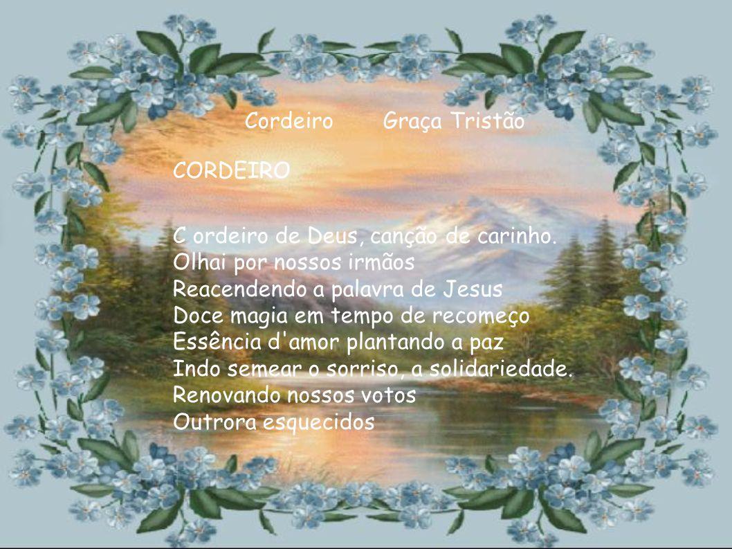 C- Cordeiro O- O sacrifício oferecido R-Redenção dos pecados D- Doação, oferenda E- Em forma de I- Imolação R- Representada O- Oferecida pelo amor e a PAZ !.
