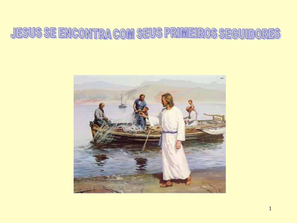 11 18 Caminhando ao longo do mar da Galiléia, viu dois irmãos: