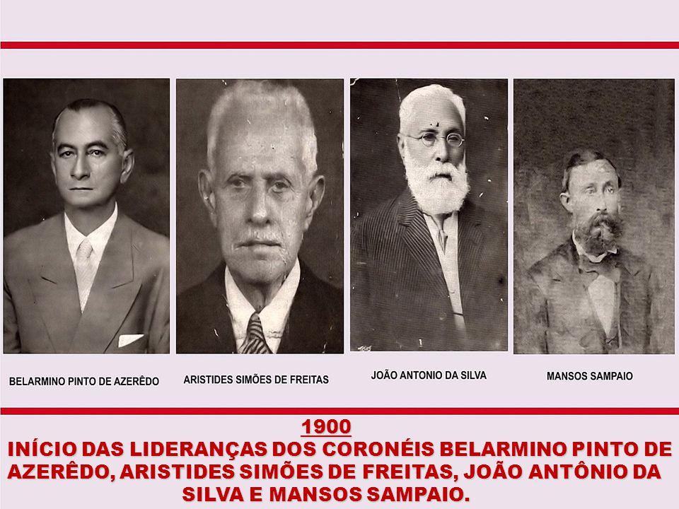 1887 PASSAGEM DO PRIMEIRO TREM DA V.F.F.L.B PELAS TERRAS DO ARRAIAL DE ITIÚBA. PELAS TERRAS DO ARRAIAL DE ITIÚBA.