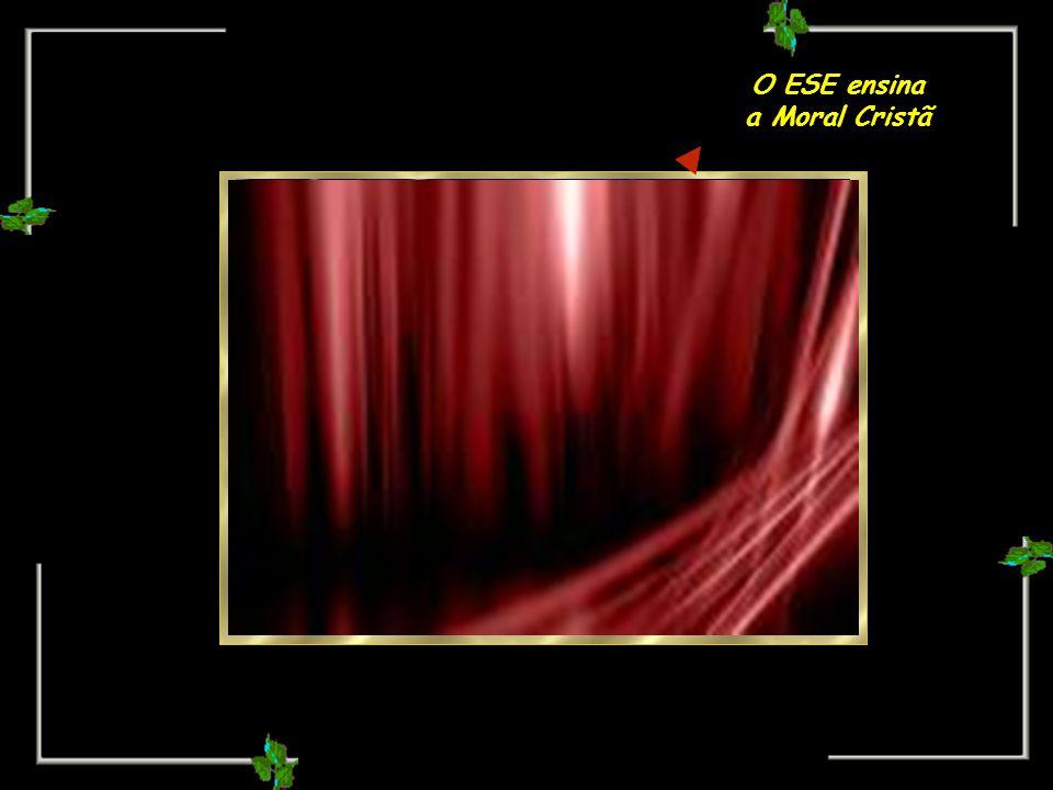 Oportunidade do Espírito se purificar, através do progresso MORAL, tarefa inadiável e intransferível.