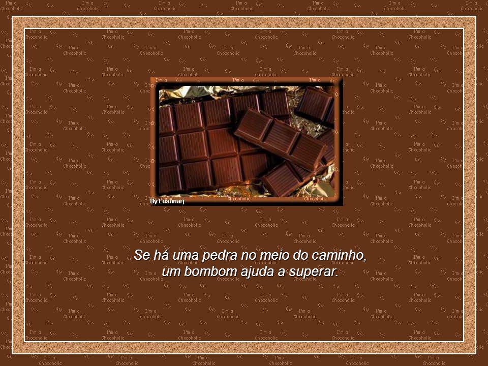 COMENDO CHOCOLATE COISAS QUE APRENDI SOBRE A VIDA