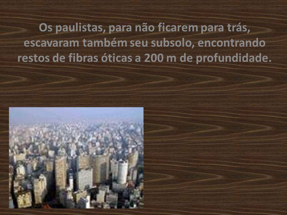 Os cientistas cariocas concluíram que seus antepassados já dispunham de uma rede telefônica naquela época.