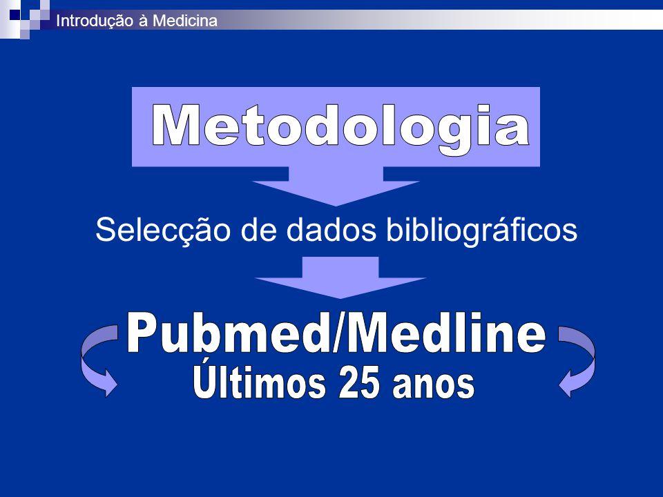 Selecção de dados bibliográficos