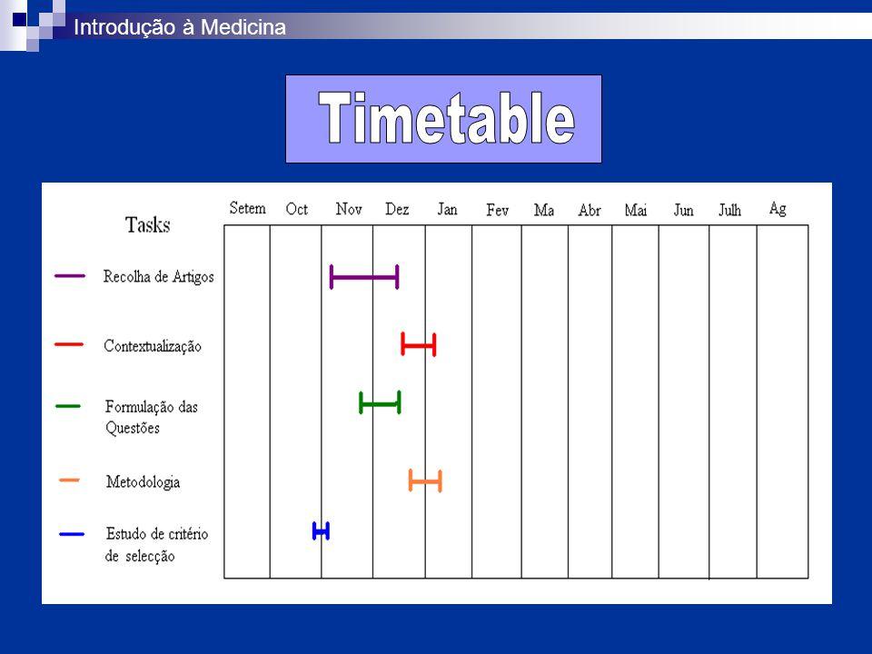 Ligação para as Tabelas (formato.doc)Tabelas Palavras-chave das pesquisas efectuadas (1980 a 2004): quality assurance, health care, lung diseases, obstructive e asthma.