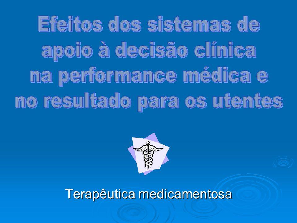 Introdução Avanço das tecnologias de informação na prática médica São cada vez mais utilizadas por parte dos clínicos, devido ao seu potencial para melhorar a qualidade de prestação de cuidados de saúde.
