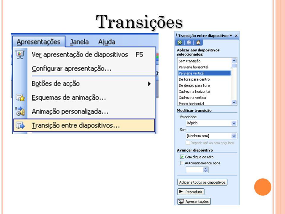 Transições