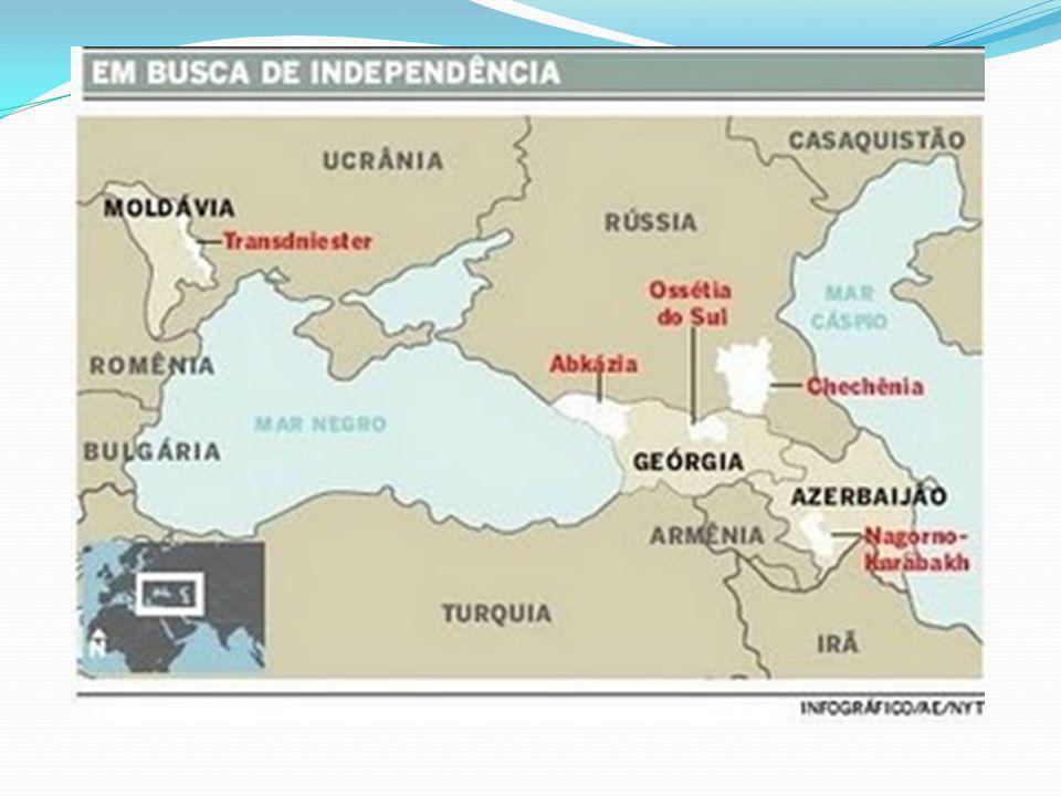 O Cáucaso é uma região da Europa oriental e da Ásia ocidental, entre o Mar Negro e o Mar Cáspio, que inclui a cordilheira do Cáucaso e as planícies adjacentes.