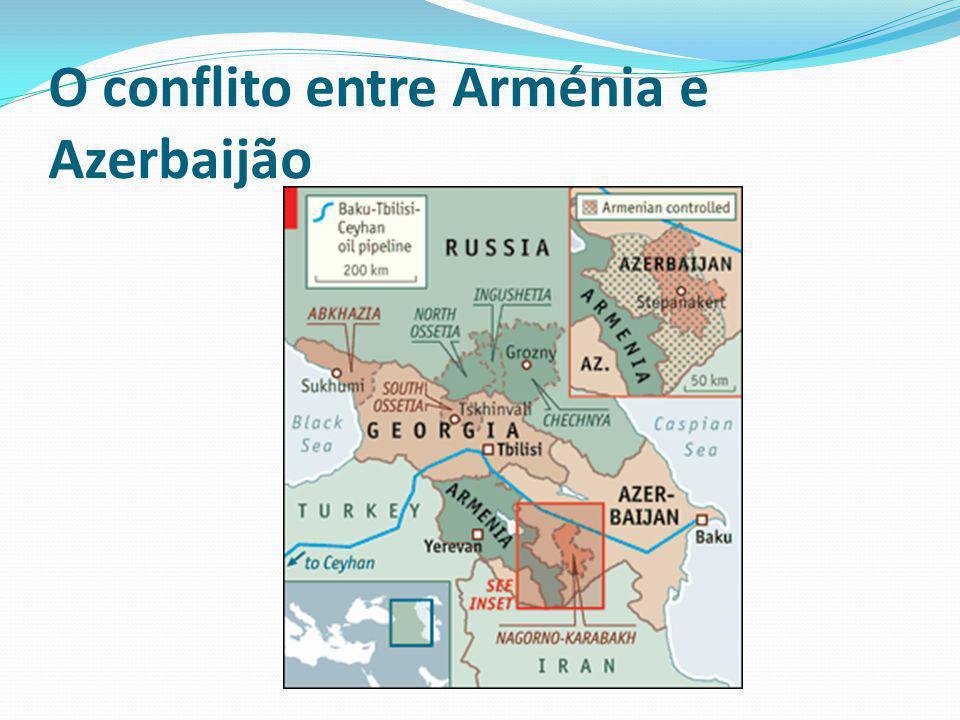 O conflito da Geórgia em Agosto de 2008