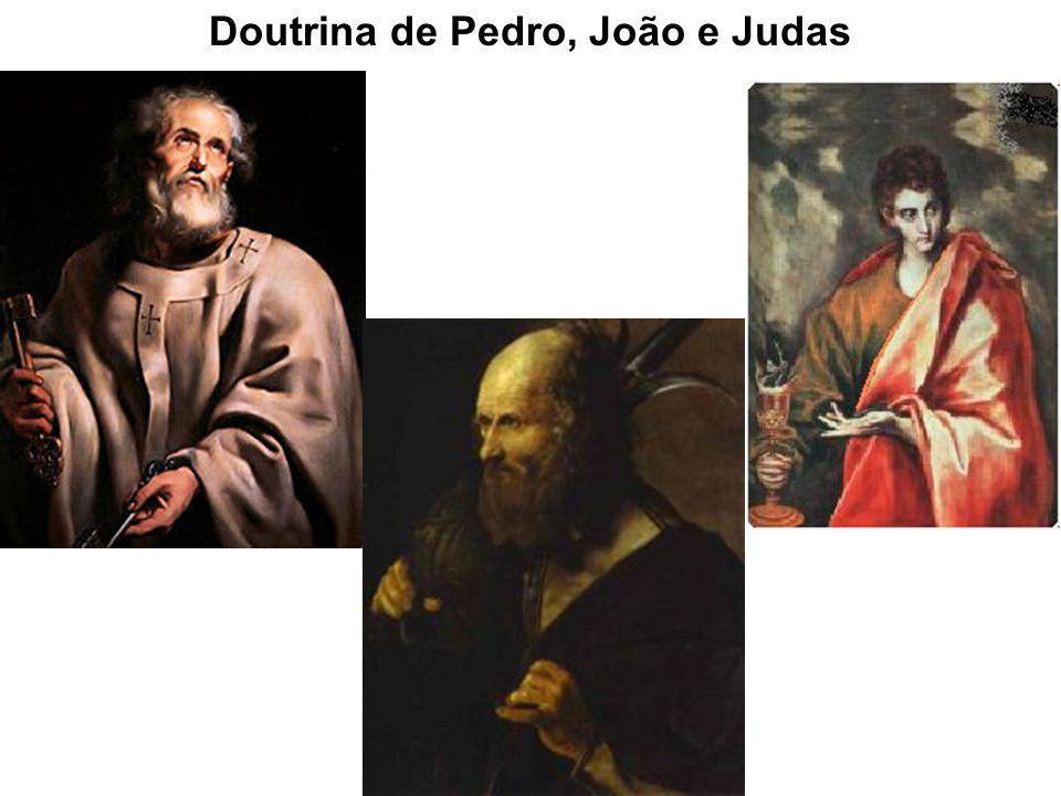 Doutrina de Pedro, João e Judas