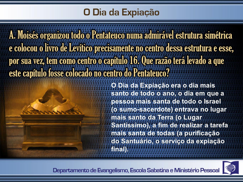 1.A oferta de purificação pelos sacerdotes.