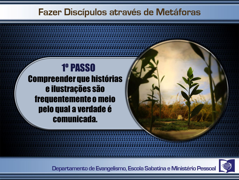 1º PASSO Compreender que histórias e ilustrações são frequentemente o meio pelo qual a verdade é comunicada.