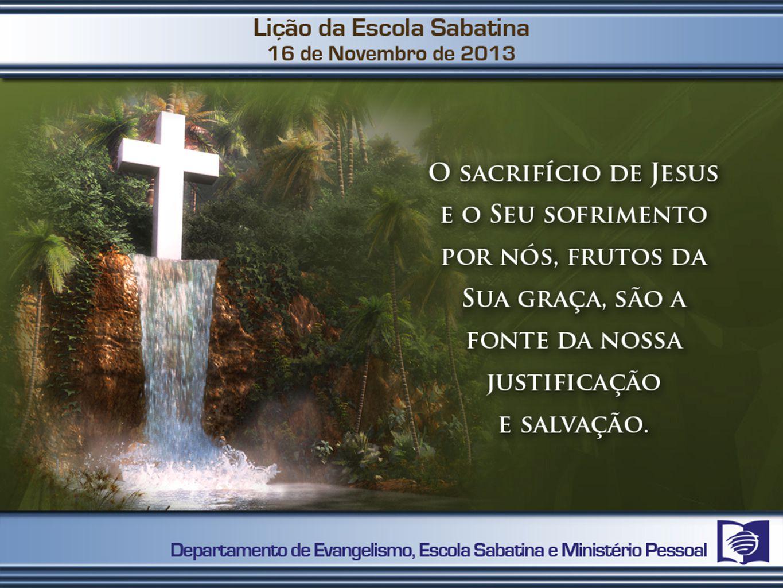 Aceitar a morte substituinte de Jesus como sendo válida para mim.